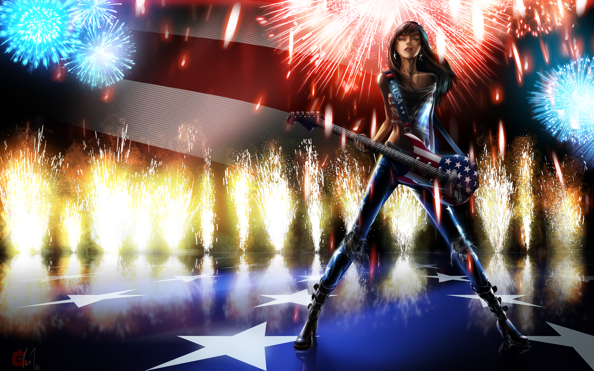 American Woman by Jonzy