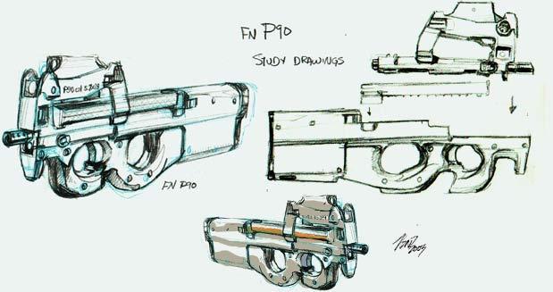 P90 by Jonzy
