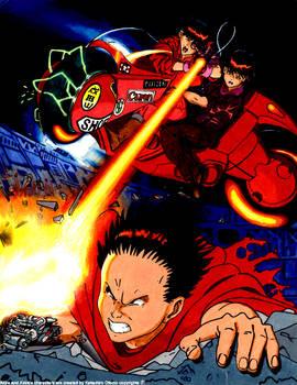 Akira - The final fight.