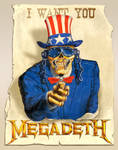 Megadeth want you