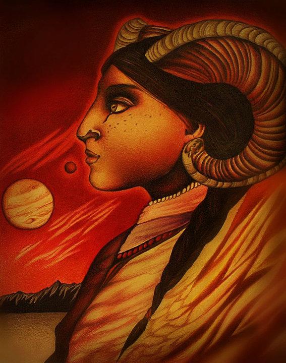 Aries by minkha