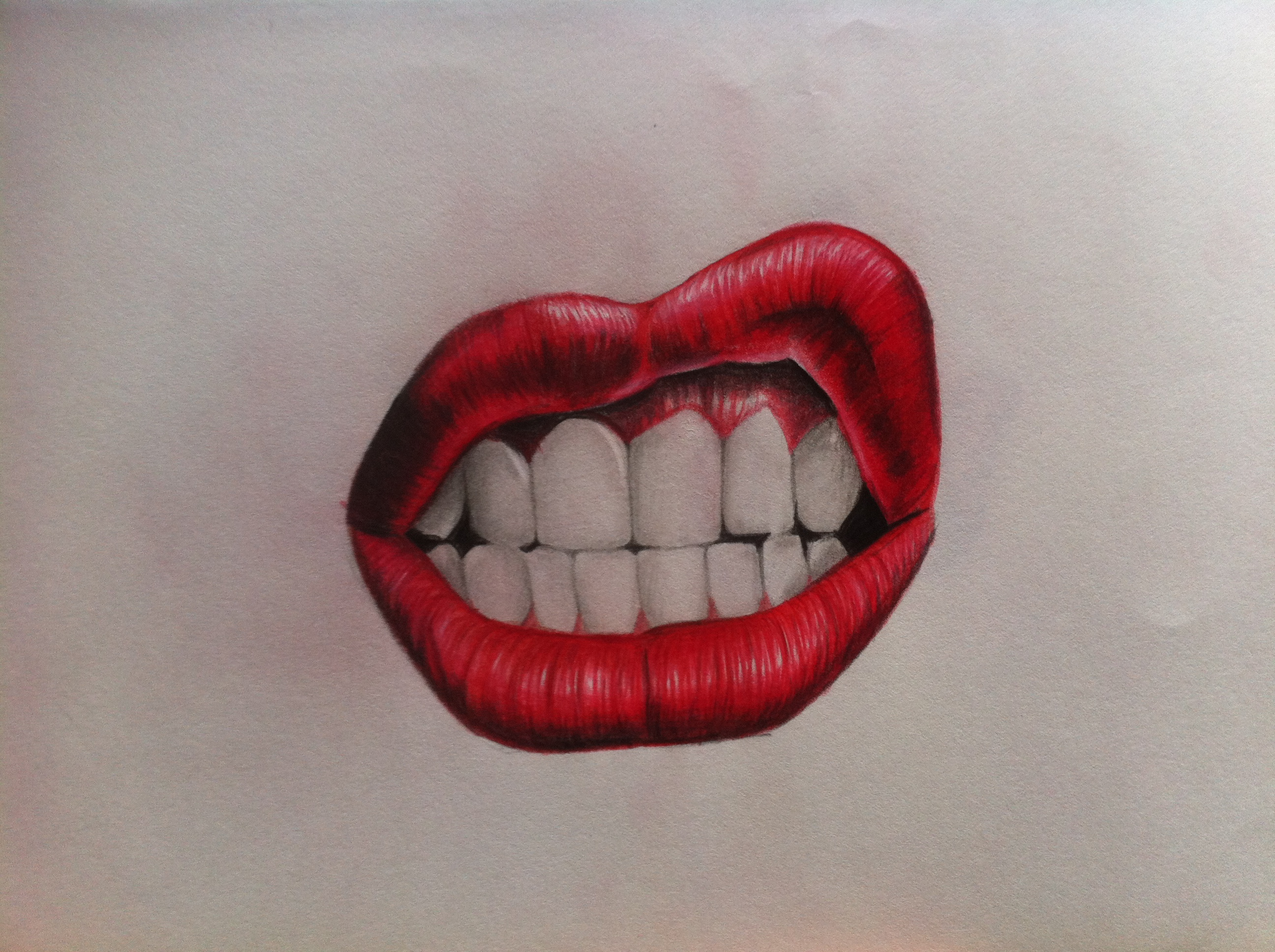 Pictures Of Red Lips Tumblr Drawing Kidskunst Info
