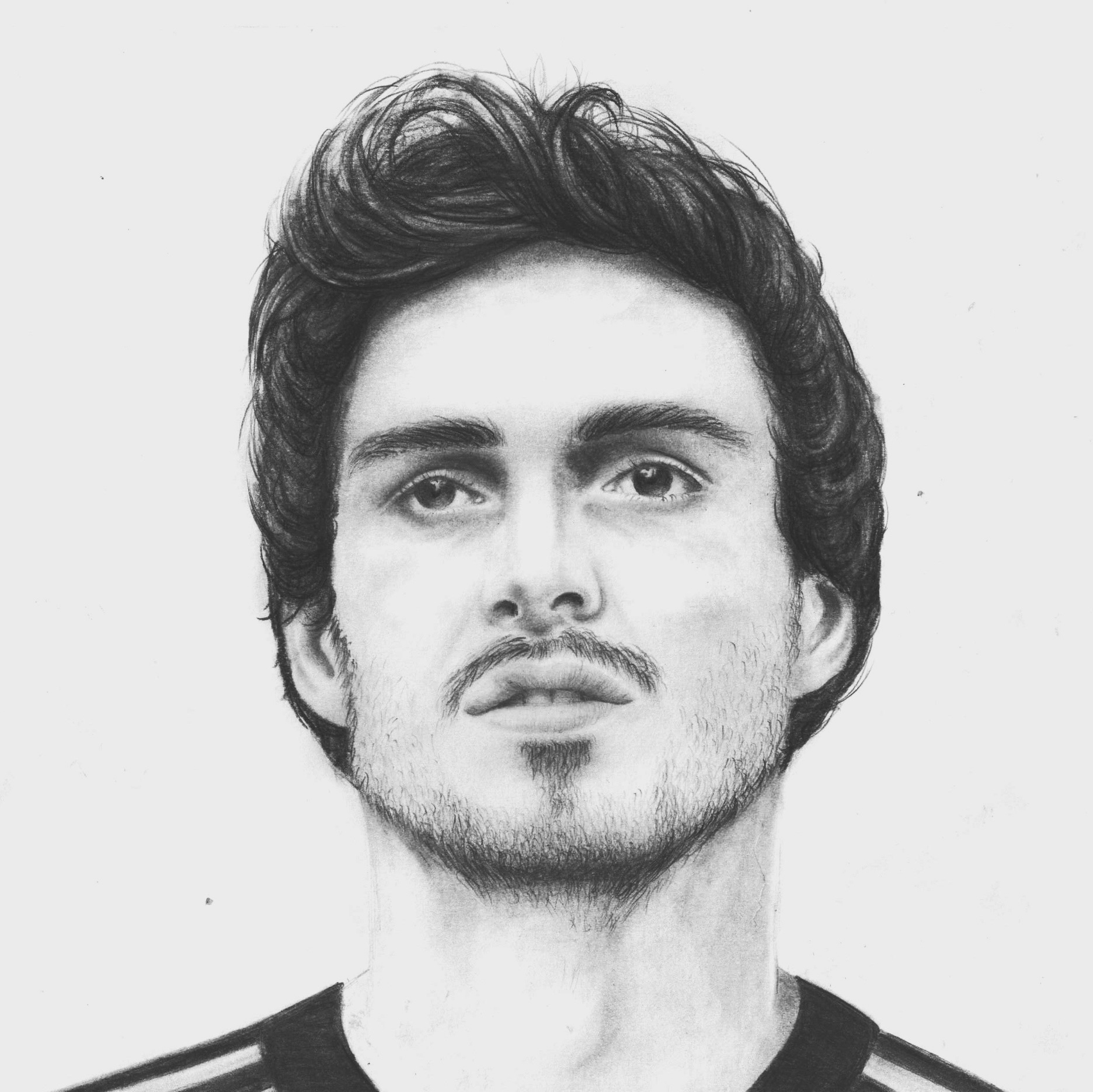 Mats Hummels Drawing by carolin eli on DeviantArt
