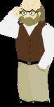 Betrayal - Professor Longfellow by DuctToast