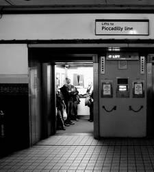 elevator doors, holloway road