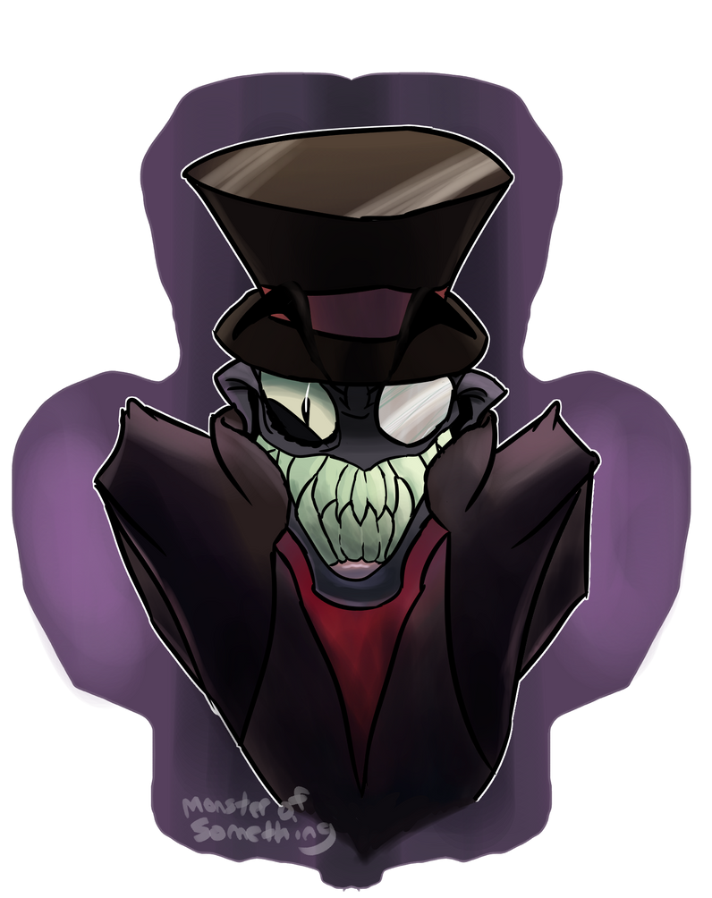I wish this guy wasn't named Black Hat by Monster-of-Something