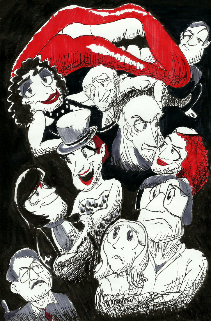 Ink17 Week 5 Rocky Horror Picture Show by Monster-of-Something