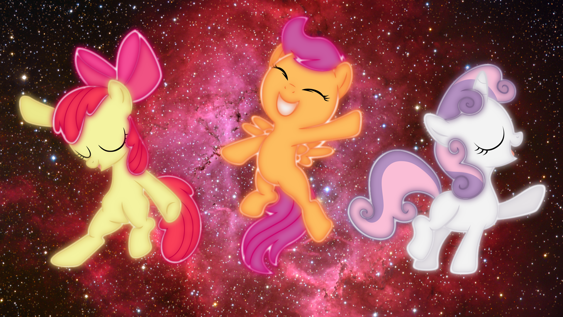 Cutie Mark Crusader Wallpaper Ponies! by DragonKittyPi