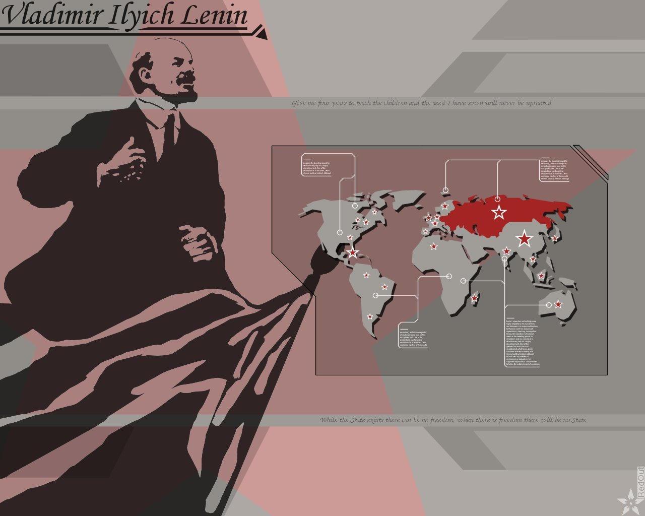 Lenin by RedOut