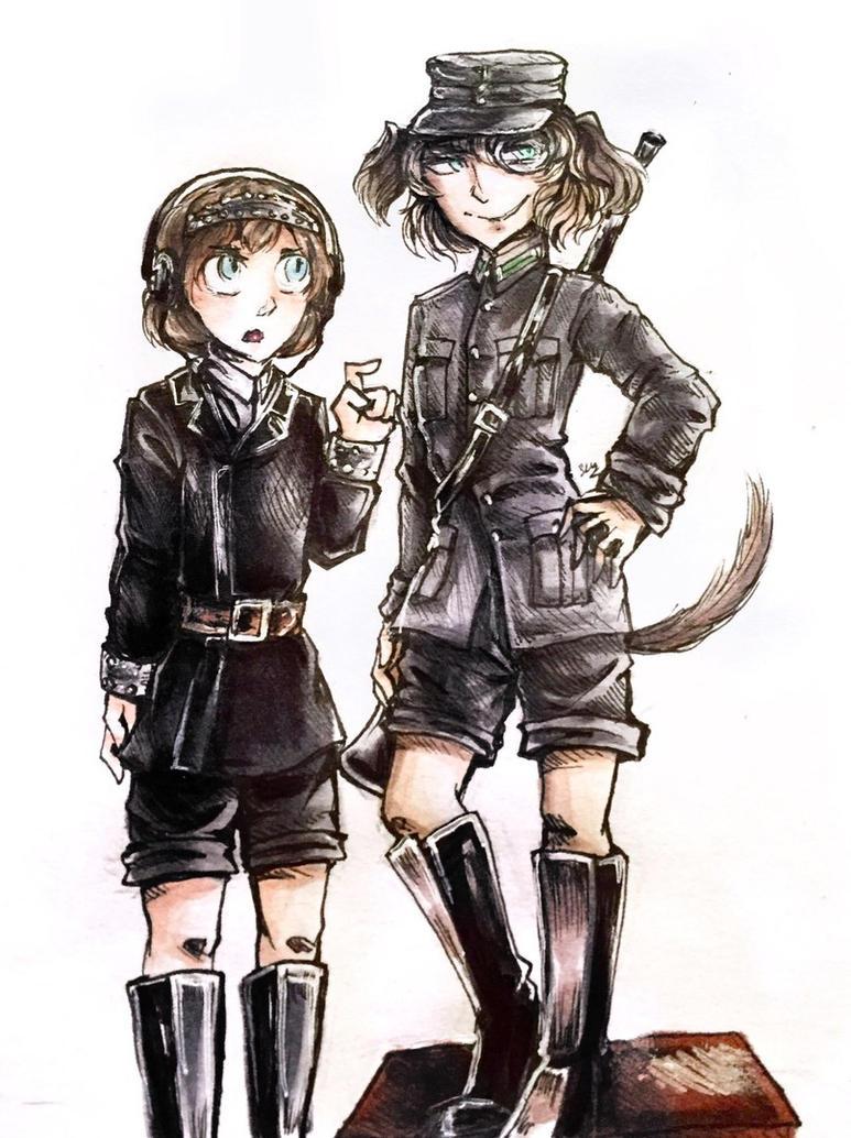 Hetzer and Lt vz. 38 by Senhariko