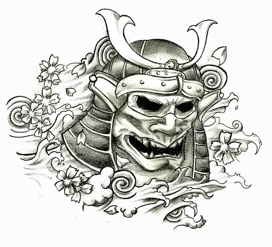 Samurai Skull by stefano13 on DeviantArt