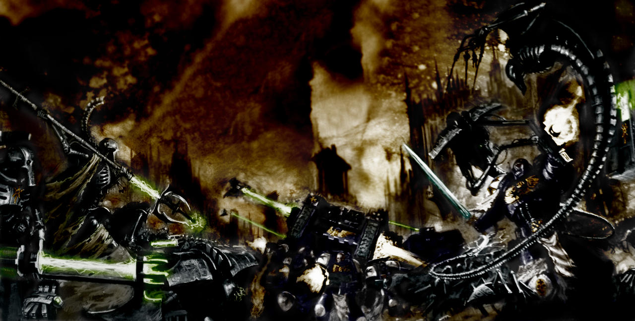 [W40K] Collection d'images : Space Marines Black_Templars_colored_3_by_MrDue
