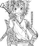 Tenzen Warrior by Sensoji