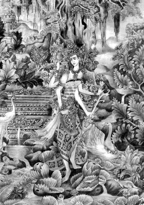 Saraswati by bpresing