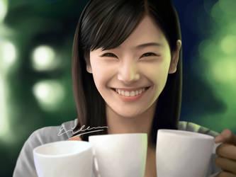 Color study - Morning coffee by eileenirma