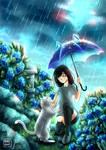 MIO IN THE RAIN by YukiAnne-chan