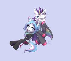 (C) Jenn and Ubercorn by YukiAnne-chan