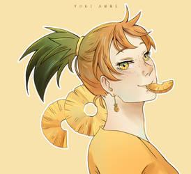 Pineapple by YukiAnne-chan