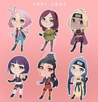 OPEN ADOPTS (Cute Naruto girls)