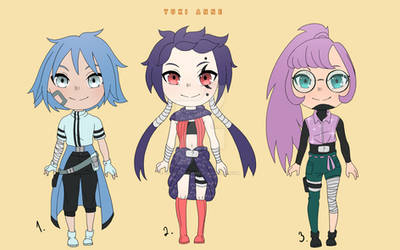 OPEN ADOPTS (Cool girls)