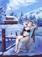 Nice sunbath by YukiAnneArt