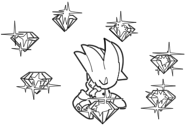 chaos emerald coloring pages - photo#6