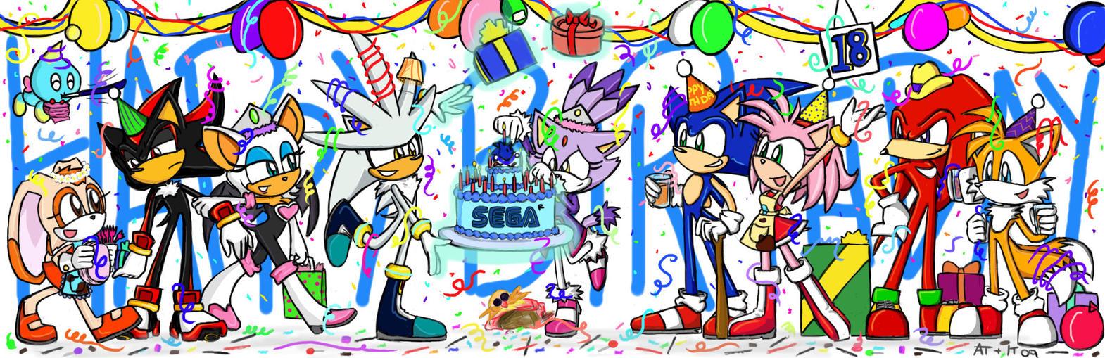 Sonic's 18th Birthday by SonicFF