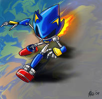 Metal Sonic by SonicFF