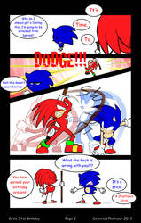 Sonic's 21st Birthday--page 2 by SonicFF