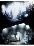 Ice Environments Concept Paintings