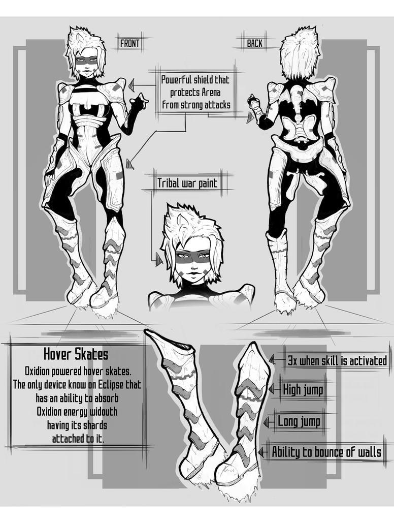 Arena Concept Art by Sarlah on DeviantArt Borderlands Character Backstory