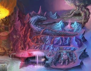 TideQuest Map area Painting