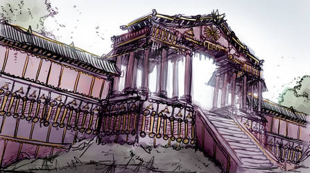 Gates, environment sketch