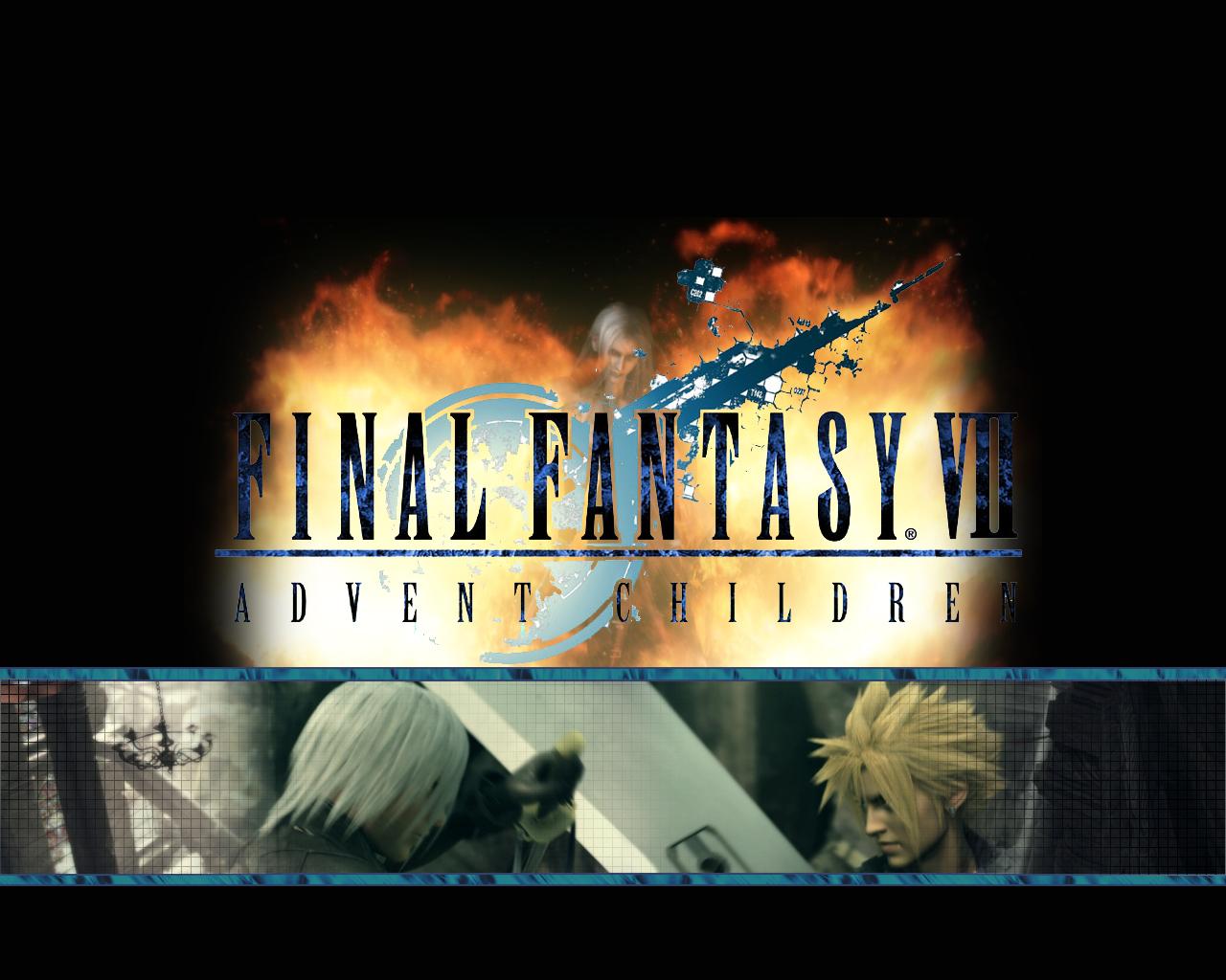 Final Fantasy Advent Children by bokkolah