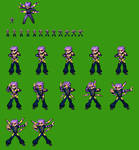 Twitch Plays Pokemon: Lance (Anven) Frames by Megaman-Omega
