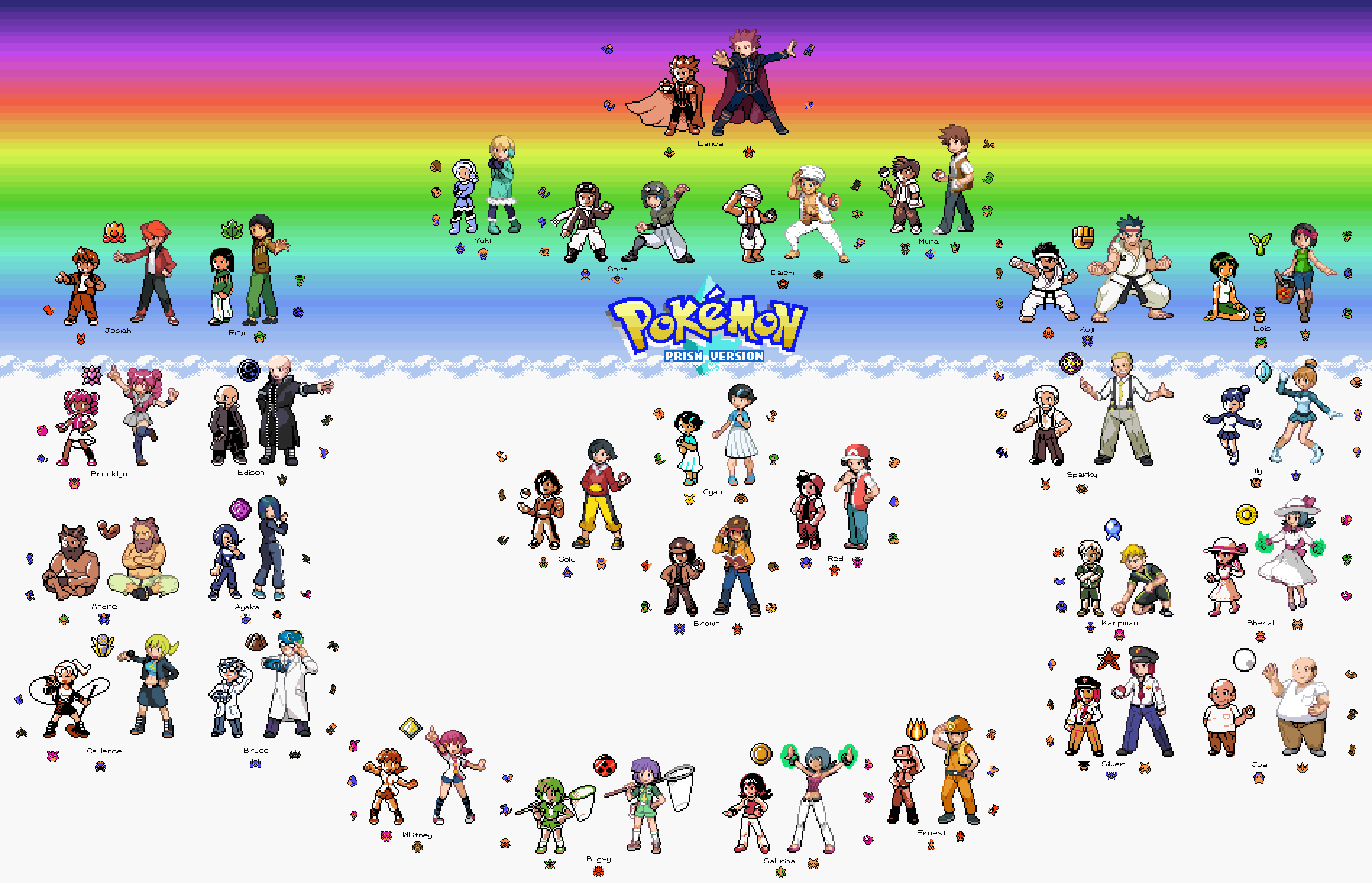 Pokemon prism final version gbc