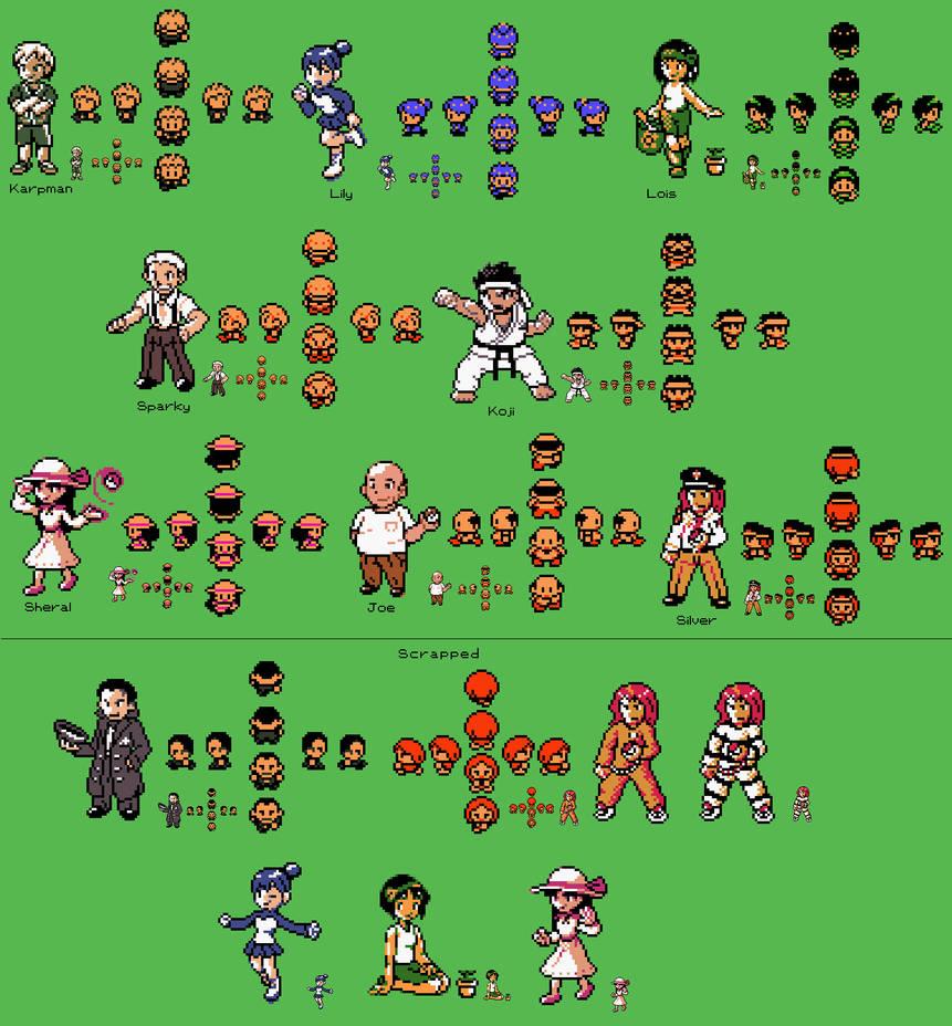8497e07ad519 Rijon Gym Leaders by Megaman-Omega on DeviantArt
