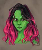 Gamora by saltyalien