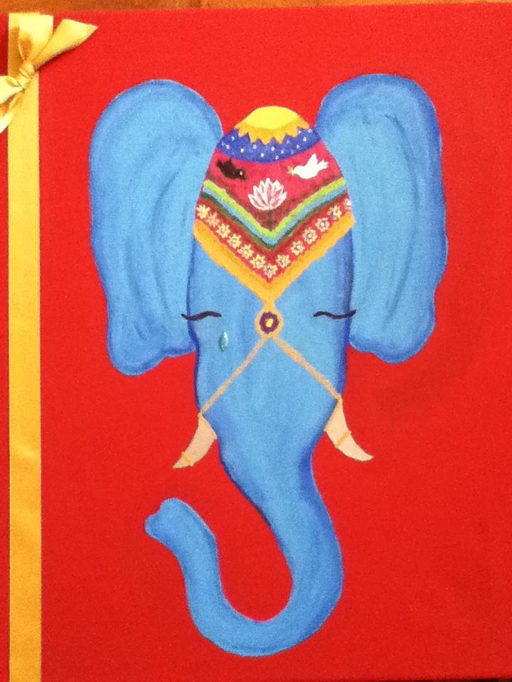 Crying Elephant by sagemgold123