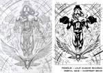 Inks over Lalit Kumar Sharma