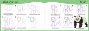 How to Draw Series - Panda