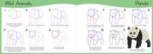 How to Draw Series - Panda
