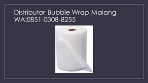 Agen Bubble Wrap Torongrejo Junrejo Batu,