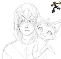 Talon and Yuumi by metilalcohol