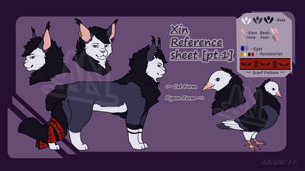 Xin OC reference sheet pt.1