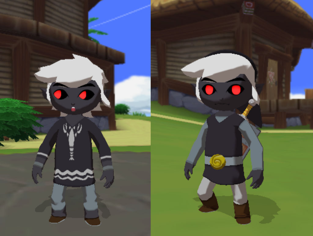 Dark Link Mod With Download by Lu-nya on DeviantArt