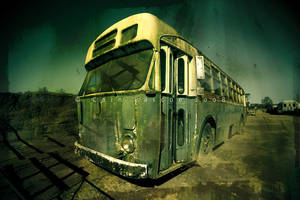 Abandoned Bus by CainPascoe