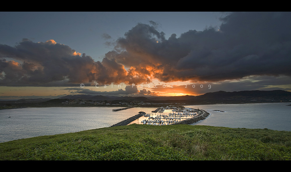 Coffs Sunset by CainPascoe
