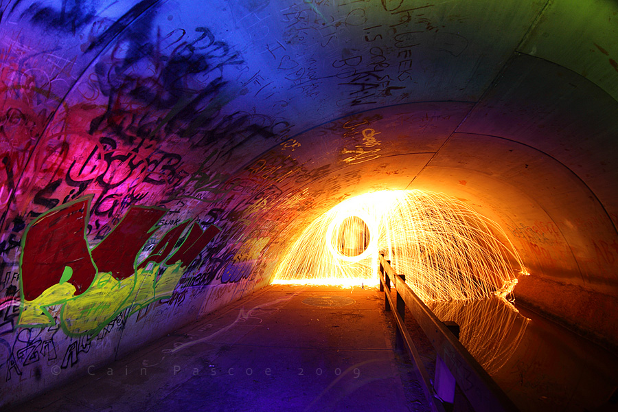 Tunnel Pyromaniac by CainPascoe