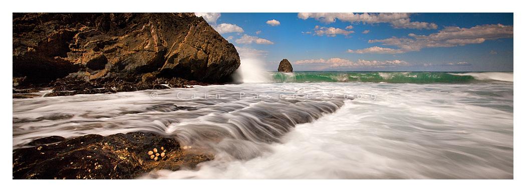 Cave Beach Falloff by CainPascoe